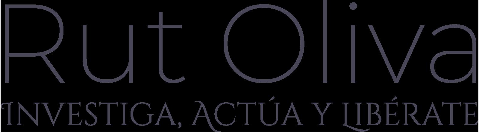 logo rut oliva tipografia